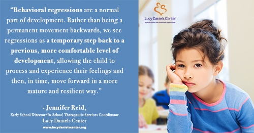 Behavioral Regressions in Children