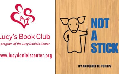 Lucy's Book Club: Not a Stick by Antionette Portis