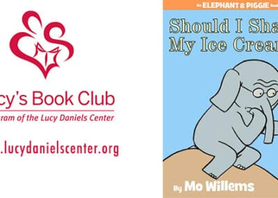 Lucy's Book Club: Should I Share My Ice Cream? by Mo Willems